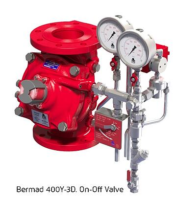 Bermad 400Y-3D. On-Off Valve