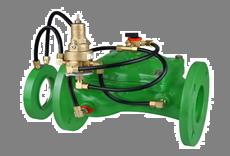 Bermad Model 470-U Flow Control Valve with ΔP Orifice Flow Sensor