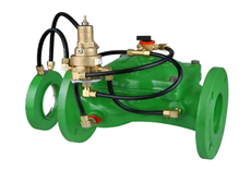 Bermad Model 470-U Flow Control Valve with ΔP Orifice Flow Sensor