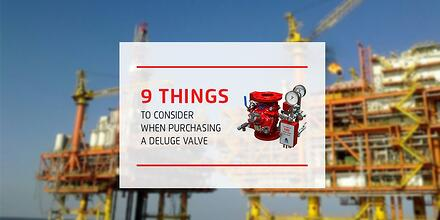 9 things to consider - Deluge Valve