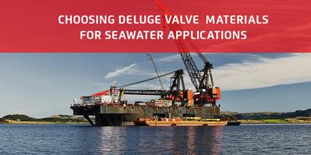 Deluge Valve Materials