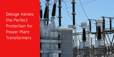 Power plant transformers fire