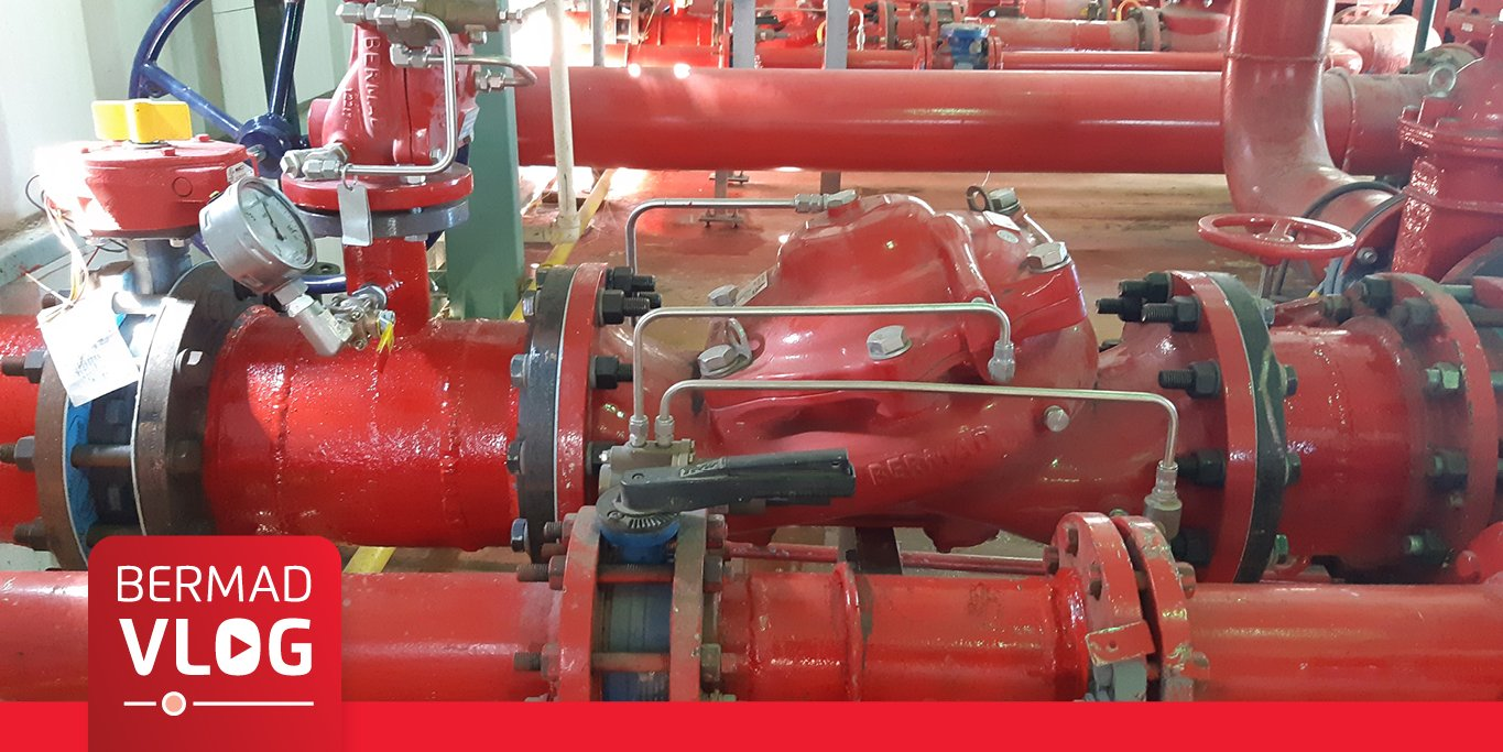 Fire extinguishing systems in infrastructure buildings