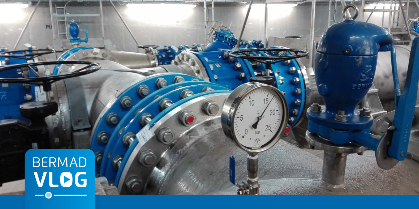 Fully Automatic pressure-reducing system for a leading industrial plant