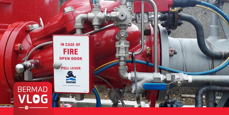 Deluge Valves for Extinguishing Refinery Fires
