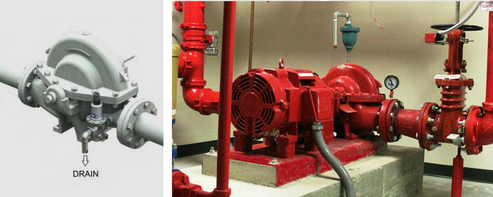 Circulation Relief Valve Fire Pump
