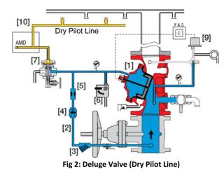 Deluge Valve Dry Pilot