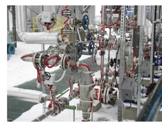 Heat Tracing Deluge Valve