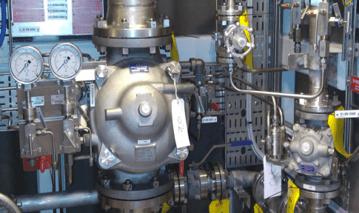 pressure control deluge valve