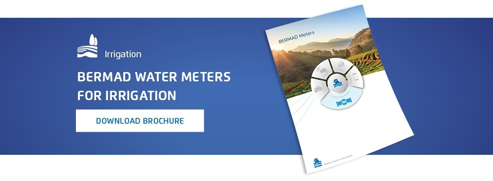 Bermad Water Meters for irrigation. Download brochure