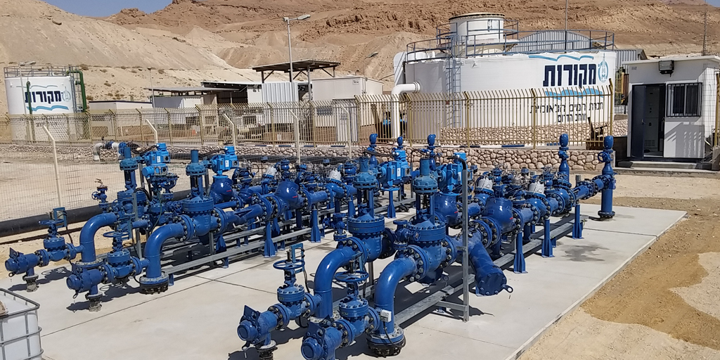 Bermad's Turnkey Water Supply Solution for the Lowest Place on Earth