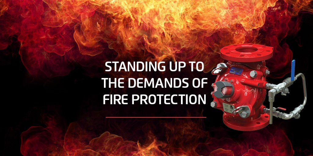 The BERMAD 400Y Torrent Fire Protection Valves
