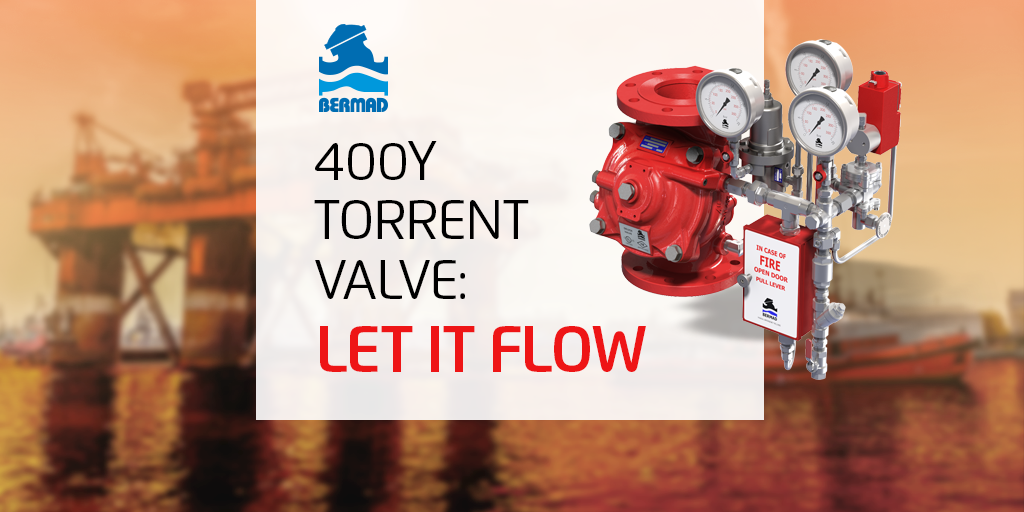 The BERMAD 400Y Torrent Deluge Valves PT. II