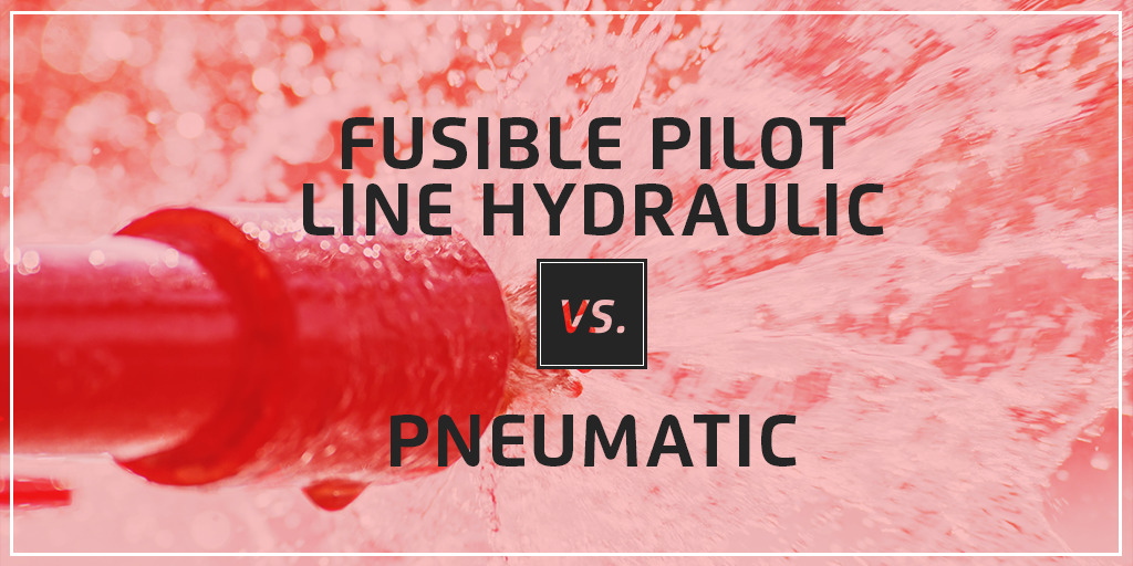 Deluge Valves: Hydraulic vs. Pneumatic Fusible Pilot Lines