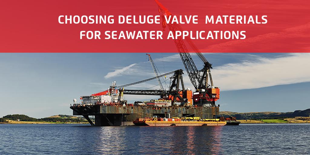 Choosing Deluge Valve Materials for Seawater Applications