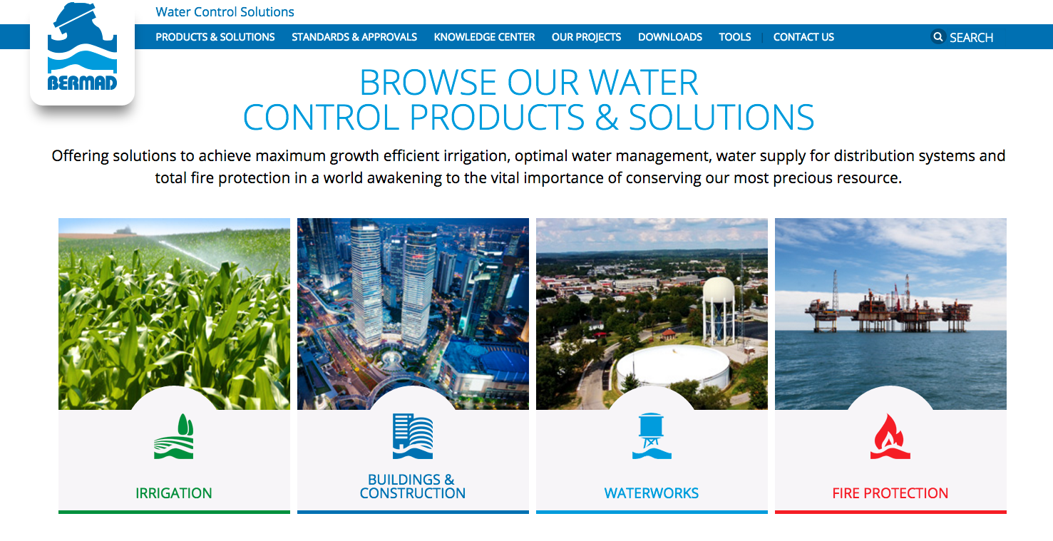 Announcing the New BERMAD Website and Irrigation Blog