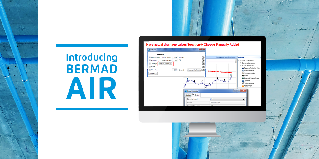 Make Your Air Valve Selection Easier With BERMAD Air