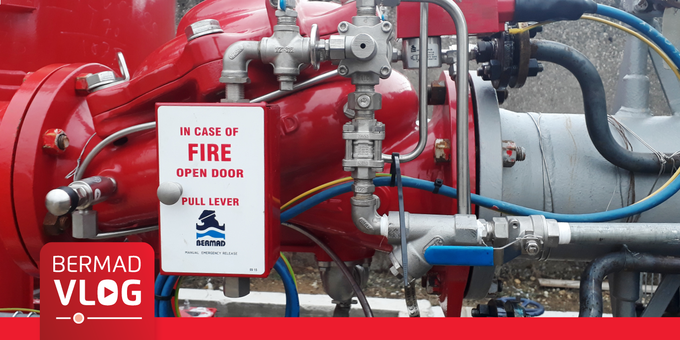 Deluge Valves for Extinguishing Refinery Fires