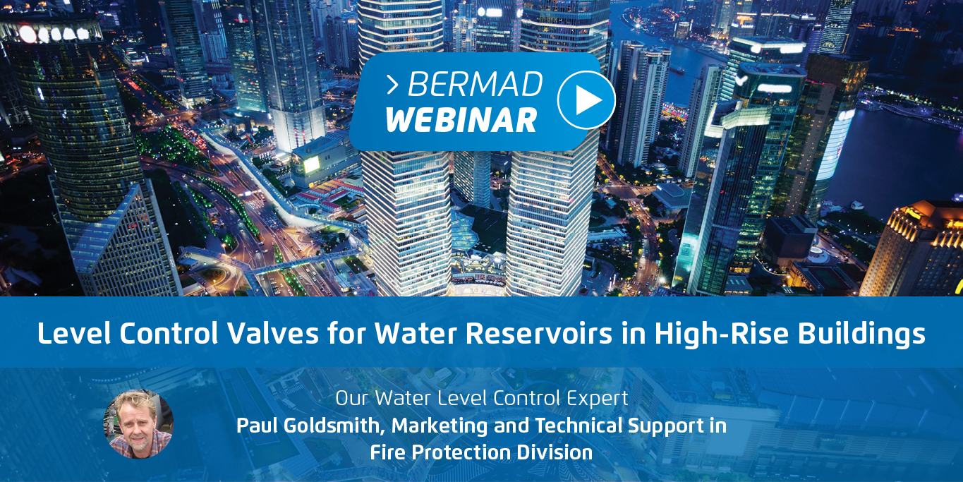 Level Control Valves for Water Reservoirs in High-Rise Buildings