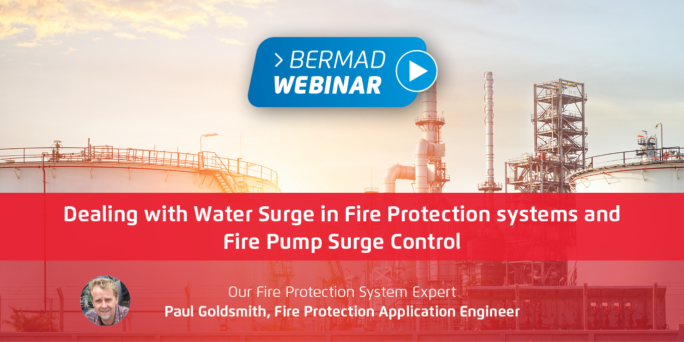 Dealing with Water Surge in Fire Protection systems and Fire Pump Surge Control