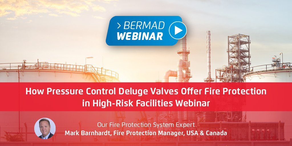 How Pressure Control Deluge Valves Offer Fire Protection in High-Risk Facilities