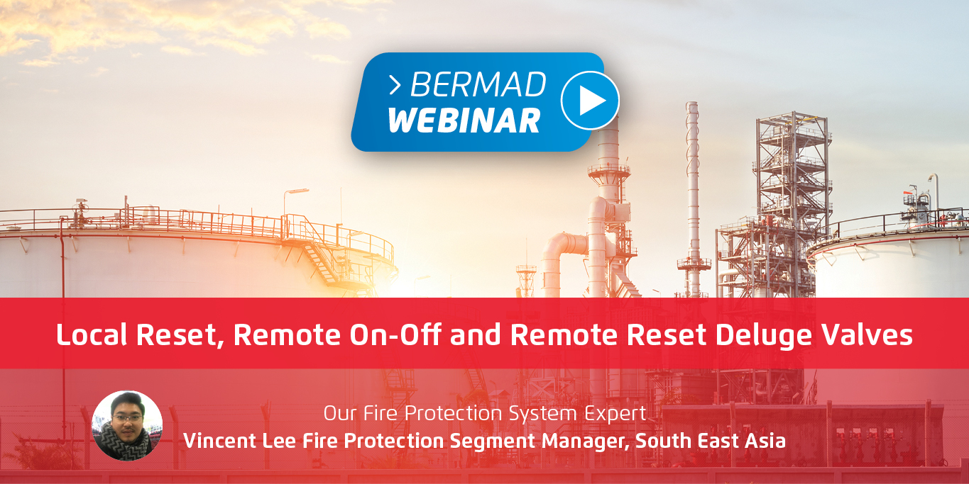 Local Reset, Remote On-Off and Remote Reset Deluge Valves