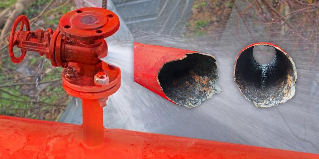 Reduzindo Surtos de Pressão de Água e Golpes de Aríete em Sistemas de Proteção contra Incêndios
