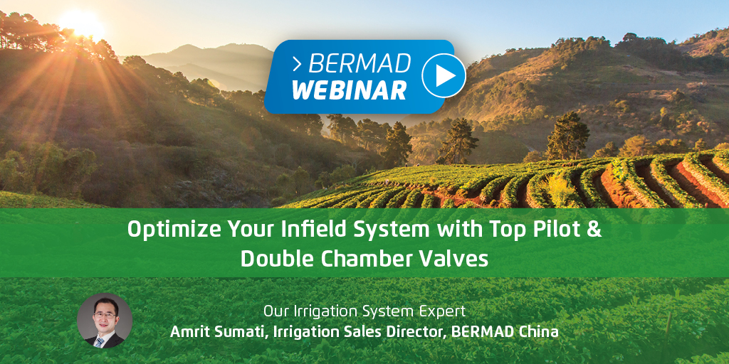 Optimize Your Infield System with Top Pilot & Double Chamber Valves