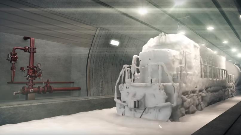 Deluge Valves for Tunnel Fires