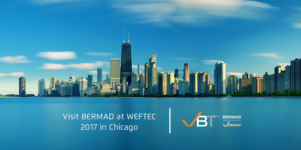 Visit BERMAD at WEFTEC 2017 in Chicago - Featuring Magnetic Flow Meters
